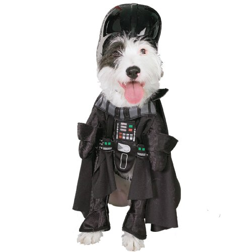 Darth Vader Pet Costume - Darth Vader Pet Costume Large