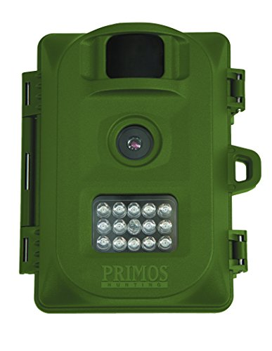 Bulletproof Camera (Primos 6MP Bullet Proof Trail Camera with Low Glow LED, Green)
