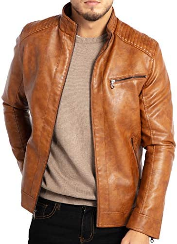 WULFUL Leather Motorcyle Lightweight Outwear product image