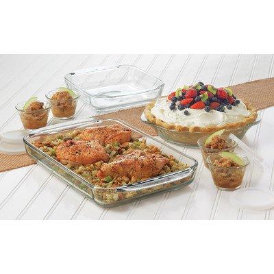 10 inch glass pie plate - 8