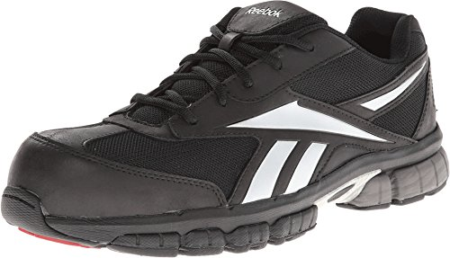 (Reebok Work Men's Ketia Black/Silver 11.5 E US)