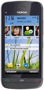 Nokia C5-03 - Smartphone libre (pantalla táctil de 3.2