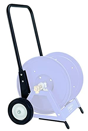 Coxreels PR-1125-6 1125 Series Steel Hand Crank Portable Hose Reel Cart Kit