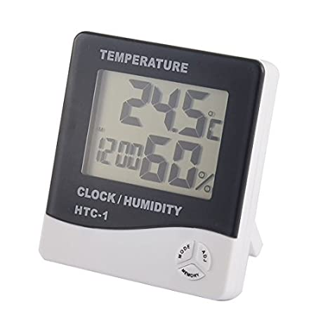 Amazon.com: DealMux Indoor Digital Display LCD Tempo Relógio ...