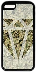 Money Pattern Diamond Theme Iphone 5C Case by supermalls