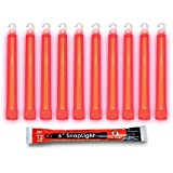 "Cyalume 9-00721 Snap Light Stick, 6"", Red (Pack of 20)"
