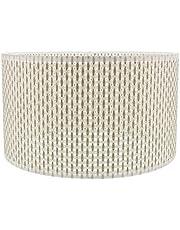 Luxshiny Woven Lampshade Imitation Rattan Desk Lamp Shade Home E27 Modern Style Medium Lamp Shade