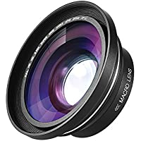 Andoer 30mm 37mm 0.39X Full HD Wide Angle Macro Lens for Ordro Andoer Digital Video Camera Camcorder
