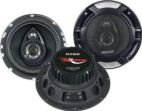 Imagen deRenegade RX62 altavoz audio De 2 vías 200 W - Altavoces para coche (De 2 vías, 200 W, 100 W, 4 Ω, 60-20000 Hz, 14,3 cm)