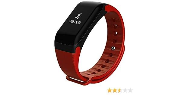 Pulsera inteligente de actividad smart watch pulsometro: Amazon.es: Deportes y aire libre