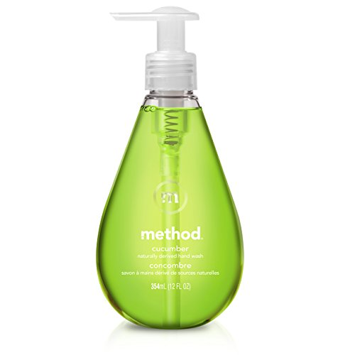 Method Gel Hand Soap, Cucumber, 12 Ounce
