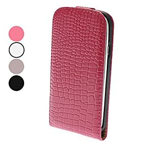 ZL Flip-Open Design Noble Alligator Grain Leather Case for Samsung Galaxy S3 I9300 (Assorted Colors) , Rose