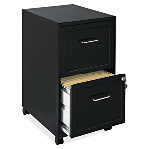 Lorell Mobile File Cabinet, 18-Inch