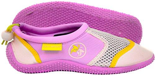 Poolschuhe Speed Damen Kinder Aqua Aqua Jugendliche Pink MODELL Neopren Violett Herren Mikrofaserhandtuch 14B Set Schuhe Badeschuhe wHRxpnpqz