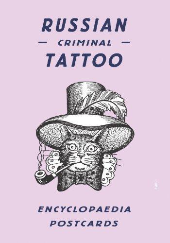 Russian Criminal Tattoo Encyclopaedia Postcards by Baldaev, Danzig ...