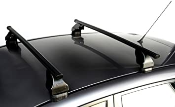 2003-2010 Heavy Duty Black Steel Storage /& Transport Car Roof Rack Bars to fit Ford Focus C-Max