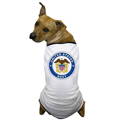 CafePress - United States Navy Emblem - Dog T-Shirt, Pet Clothing, Funny Dog Costume