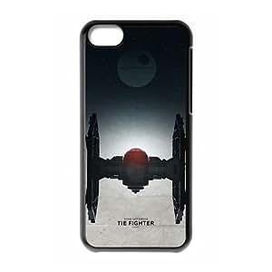 TIE Fighter de Star Wars para funda caja del teléfono celular 5c mejor cubierta del funda iPhone negro