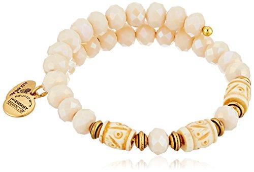 Alex and Ani Women's Deep Sea Wrap Bracelet Shore/Gold One Size