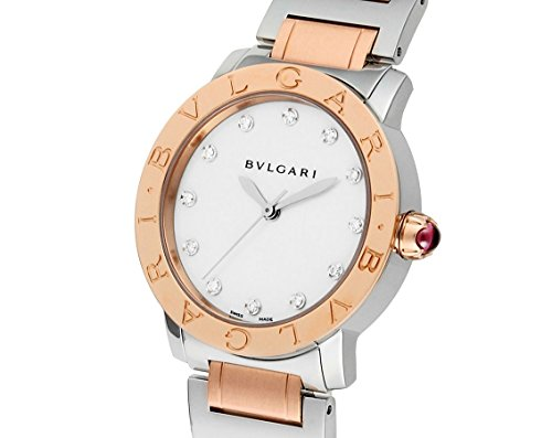 Bvlgari BVLGARI White Mother of Pearl Diamond Dial 33mm Automatic Ladies Watch 101891