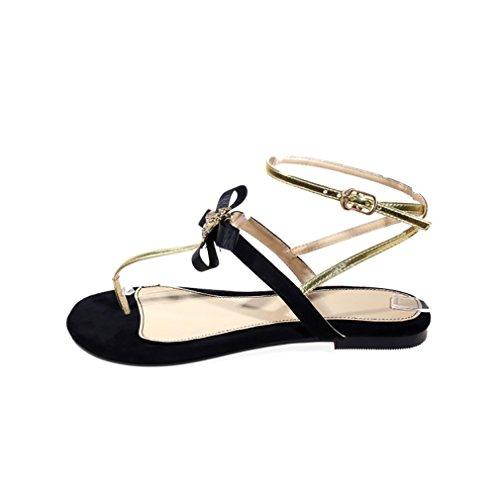 Vaneel Sandales 1 Femme sur 5CM Chaussures Plat Valxrt Violet Tirez rfr0q4