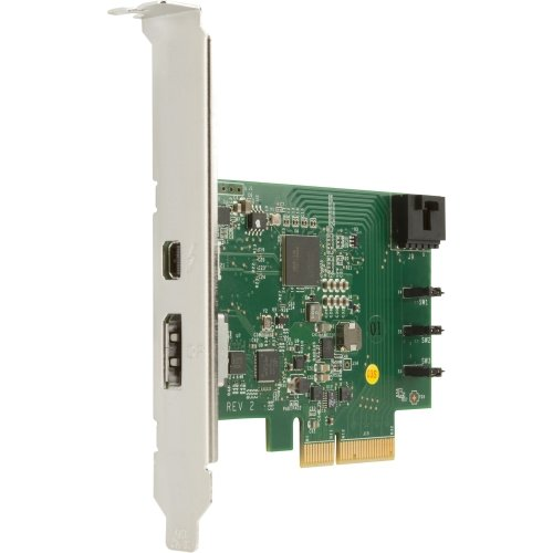 """Hewlett-Packard - Hp 1-Port Thunderbolt Adapter With Displayport Input - Pci Express - Plug-In Card - 1 Thunderbolt Port(S) """"Product Category: I/O & Storage Controllers/Usb/Firewire Adapters"""""""