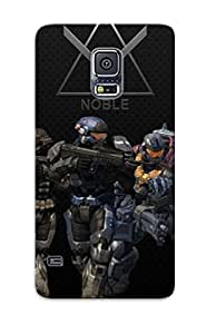 WoCweDS1139gQpwe Case Cover, Fashionable Galaxy S5 Case - Halo - Reach