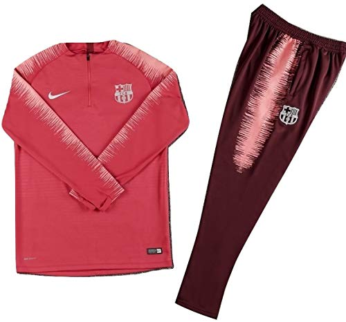 (YTATime New FC Barcelona Tropical Pink Tracksuit Jacket & Pants for Kids (11-13 Years Old))