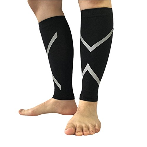 Ally Calf Compression Sleeves  Calf Guards  Leg Sleeves For Running  Cycling  Hiking  Climbing  Outdoor Sports   1 Pair  Xl 16 5  18 9