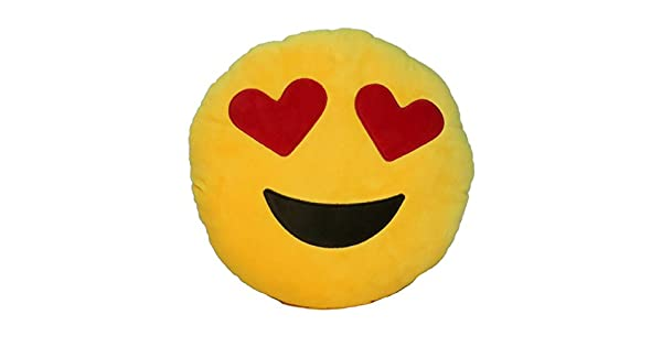 Amazon.com: Emoji Confort Cojín Emoji Smiley Ronda Emoticon ...