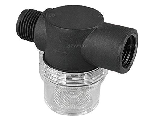 Seaflo 51S01 Strainer - 1/2 NPSM Inlet/Outlet