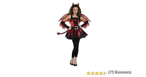 Christys Disfraz de diabla para adolescente (12-14 años): Amazon ...