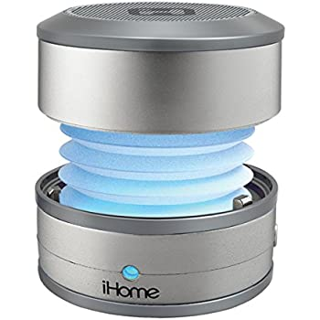 iHome Bluetooth Rechargeable Color Changing Mini Speaker System (iBT59SY)