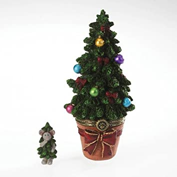 Aunt Nettie s Holiday Tree with Tanner McNibble, Boyds Treasure Box, 4022282