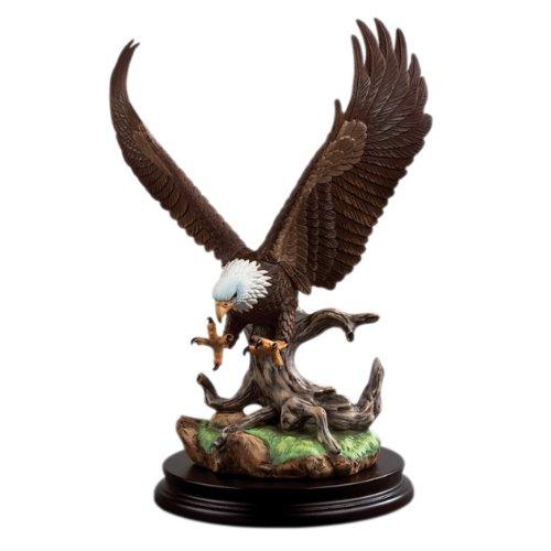 Andrea by Sadek Open Wing Eagle Bird Figurine