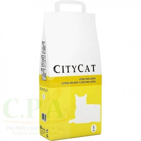 Arena para gatos City Cat Absorbente Básica 5 kg: Amazon.es: Instrumentos musicales