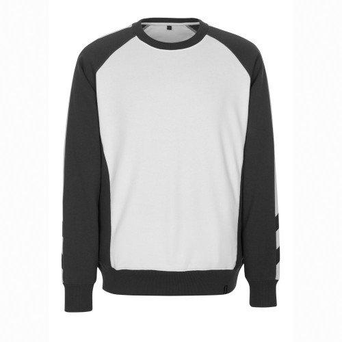 "Mascot Sweatshirt ""Witten"", 1 Stück, M, hellkhaki/schwarz, 50503-830-5509-M"