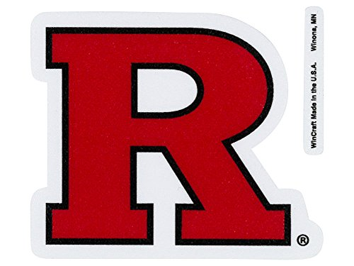 Ncaa Rutgers Perfect Cut Color Decal  4  X 4