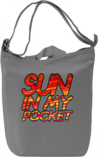 My Pocket Sun Borsa Giornaliera Canvas Canvas Day Bag| 100% Premium Cotton Canvas| DTG Printing|