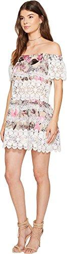 For Love and Lemons Women's Cadence Off the Shoulder Dress Pink Floral Dress by For Love & Lemons (Image #1)