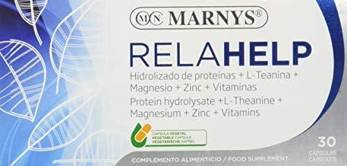 MARNYS Relahelp Activos Naturales para Estados de Estrés 30 ...
