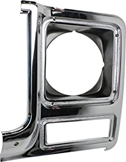 CPP Headlight Door for 79-80 Chevy C30 K5 Blazer Pickup Suburban  sc 1 st  Amazon.com & Amazon.com: CPP Chrome and gray Dual Headlight Door for Chevy Box ...