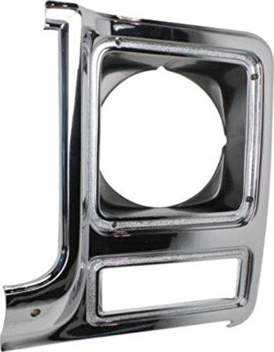 CPP Headlight Door for 79-80 Chevy C30, K5 Blazer, Pickup, Suburban, GMC Jimmy