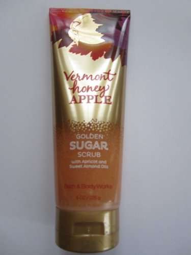Bath & Body Works Golden Sugar Scrub Vermont Honey Apple 8oz/226g
