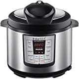 Kitchen & Housewares : LATEST MODEL Instant Pot IP-LUX50-ENW Stainless Steel 6-in-1 Multi-Functional Pressure Cooker