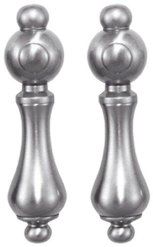Elizabethan Classics EC2SMLSN Metal Lever Handles, Satin ()
