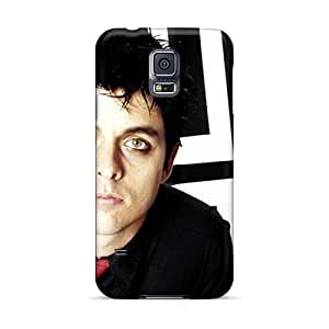 Protector Cell-phone Hard Cover For Samsung Galaxy S5 With Unique Design Nice Green Day Skin AlissaDubois