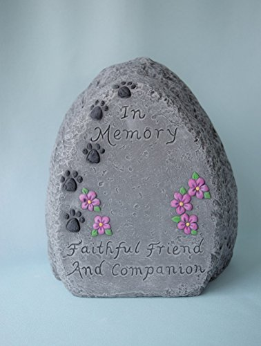 Pet Memorial Rock Personalized