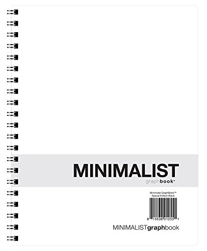 Action Publishing Minimalist GraphBook - Special Edition Black (8.5