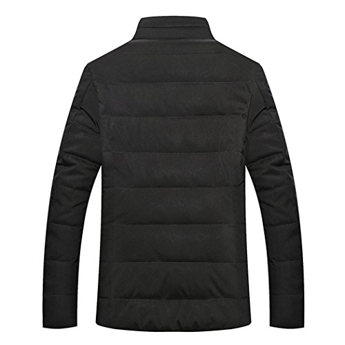 casual men thickening winter Navy HHY 185 business jacket Men's padded warm qnUEHxU